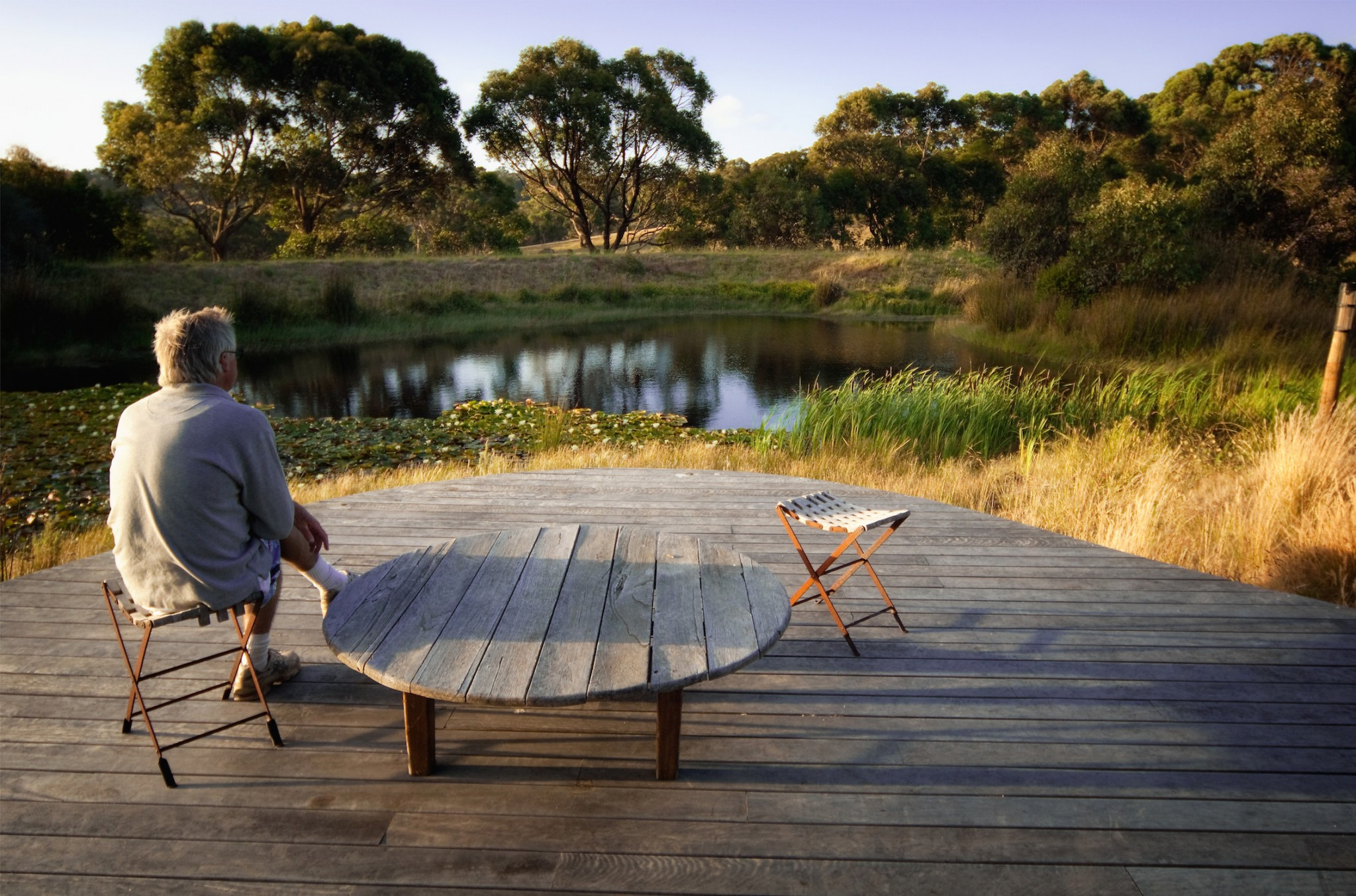 project musk cottage flinders eckersley garden architecture