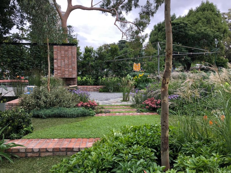 Mifgs australian case study garden eckersley garden architecture from light on landscape plants and pots from the plant society and the balcony garden custom cushions by bindi howarth angry ant gin important to aloadofball Gallery